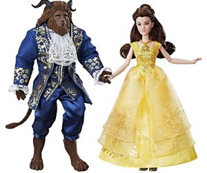 Disneys Beauty & The Beast Grand Romance Movie Doll 2 Pack Belle & Beast, an item from the 'A Story-Book Romance...' hand-picked list