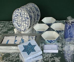 HANUKKAH CELEBRATION SET FROM WILLIAMS-SONOMA, CRATE & BARREL – NEW & SOLD OUT!, an item from the 'It's the Holiday Season' hand-picked list