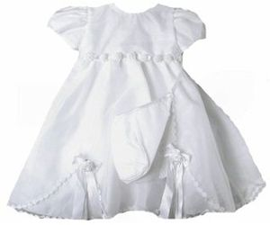 Stunning Baby Girl Heirloom Boutique Christening Gown & Hat Set, Unique Angels, an item from the 'Community Picks: Shower Me With Love!' hand-picked list