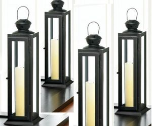 "Lot of 10 Tower Lantern Candle Holder Wedding centerpieces 12.2"" Tall- Set, an item from the 'A Reception to Remember' hand-picked list"