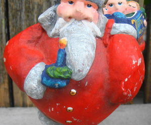 Santa w Bag Toys Christmas Ornament, an item from the 'Santas & Snowmen' hand-picked list