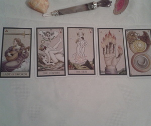 The Alchemical Tarot Reading with FIVE CARDS. ONE QUESTION, an item from the 'Tarot Time' hand-picked list