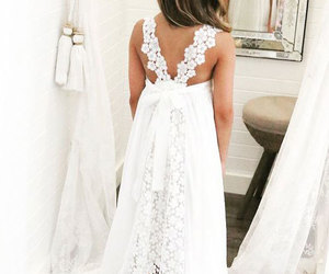 Sweet White Flower Girl Dress with Lace for Wedding, an item from the 'Girls Formal Occasion' hand-picked list