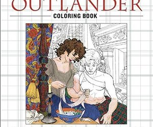 The Official Outlander Coloring Book: An Adult Coloring Book by Diana Gabaldon, an item from the 'Color My World...' hand-picked list