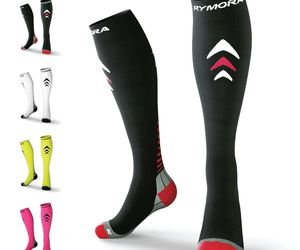 Rymora Compression Socks (Cushioned, Graduated Compression, Unisex for Men and W, an item from the 'Adaptive clothing for disabilities' hand-picked list