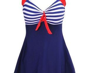 Women's Halter Neck Rompers Swimsuit Swimwear Bikini Set With Skirt Size M , an item from the 'Swimwear' hand-picked list
