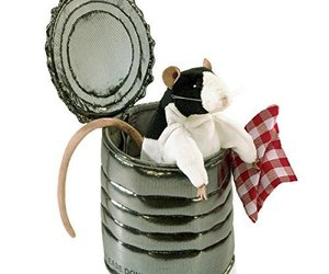 Folkmanis Rat In Tin Can Hand Puppet, an item from the 'Year of the Rat' hand-picked list