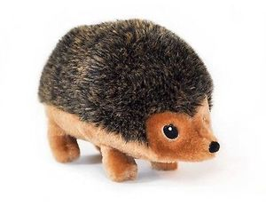ZippyPaws ZippyPaws Hedgehog Squeaky Plush Dog Toy, Small, an item from the 'Love Dogs?' hand-picked list