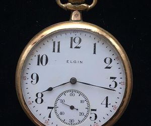 Antique Gold-Filled 1912 ELGIN Pocket Watch - 1 3/4 inches - FREE SHIPPING, an item from the 'Time to Think of Those New Year Resolutions' hand-picked list