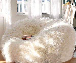 Large Fur Beanbag Bean Bag Cover Soft Lounge Chair Living Room - Without Filling, an item from the 'Hygge Life' hand-picked list