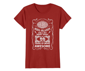 Funny Shirts - Aquarius girl smart 30 years of being awesome birthday tshir Wowe, an item from the 'AQUARIUS' hand-picked list