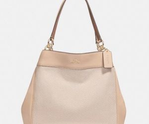 Coach Lexy Leather Shoulder Bag MSRP $375 NWT , an item from the 'Treat Yourself' hand-picked list