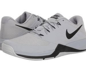 Men's Nike Lunar Prime Iron II Training Shoes, 908969 010 Multi Sizes Grey/Black, an item from the 'Mens Shoes' hand-picked list