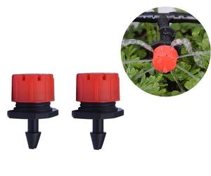 50 pcs  adjustable gardening micro flow head watering drip head spray head, an item from the 'Garden Tools' hand-picked list