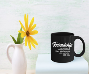Friendship Coffee Mug 11oz - Birthday Party Gift For Your Friend , an item from the 'Tokens of Friendship' hand-picked list