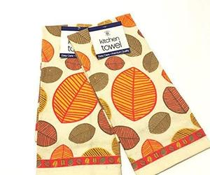Falling Leaves Kitchen Towel Set, an item from the 'Leaf It Be' hand-picked list