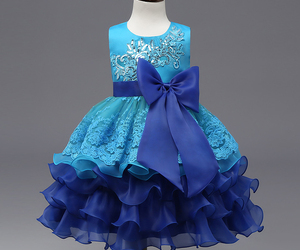 Flower Girl Dresses Ruffles Lace Applique Kids Princess Gowns Age 3-10 Years Old, an item from the 'Girls Formal Occasion' hand-picked list