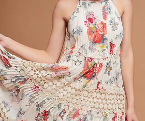 NWT ANTHROPOLOGIE KALILA FLORAL LACE DRESS by RANNA GILL M, an item from the 'Free Fall-ing' hand-picked list