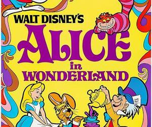 Alice In Wonderland - 1951 - Movie Poster, an item from the 'We're All Mad Here' hand-picked list