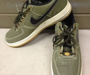 Nike Air Force 1 Low WorkBoot Pack Medium Olive 488298-206 Men's Size 11 (ddrc5), an item from the 'Mens Shoes' hand-picked list