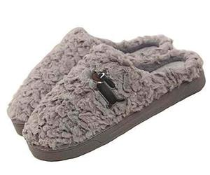 Alien Storehouse [Dog Gray] Women Cozy Plush Slippers Winter Slippers Fuzzy Indo, an item from the 'Fuzzy Feels' hand-picked list