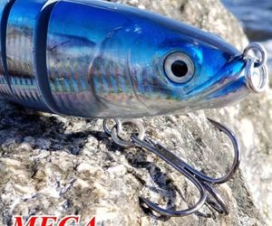 Saltwater Swimbait lure | Sinking Action | Skipjack| Mega Motion Minnow | 9.5"