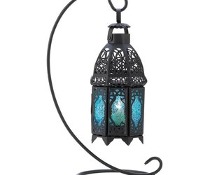 Outdoor Hanging Lanterns, Sapphire Table Metal Portable Rustic Outdoor Lanterns, an item from the 'Let There Be Light!' hand-picked list