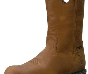 Georgia GB00102 Mid Calf Boot Dark Brown 8 W US, an item from the 'These Boots Were Made for Rocking' hand-picked list