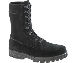 "Bates E0421 Men's1421 9"" US Navy Suede DuraShocks Steel Toe Black Boot 8 EW, an item from the 'These Boots Were Made for Rocking' hand-picked list"