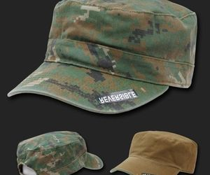 WOODLAND DIGITAL REVERSIBLE FLAT TOP CAMO CADET HAT CAP, an item from the 'Father's Day Finds' hand-picked list