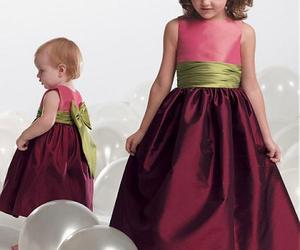 Alluring Taffeta Jewel Neckline Floor-length A-line Flower Girl Dress , an item from the 'Girls Formal Occasion' hand-picked list