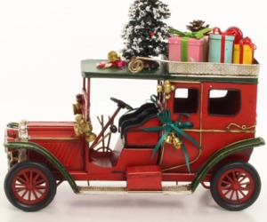 Vintage Oldtimer, Christmas style, Locomotive Decor * Free Air Shipping, an item from the 'Handmade Christmas' hand-picked list