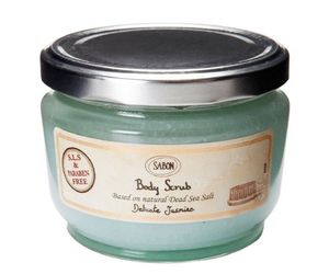 Sabon body scrub delicate jasmine 320g-11.3oz, an item from the 'Blissful Baths' hand-picked list