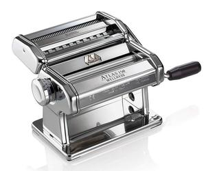 Atlas Pasta Machine Made in Italy Chrome Includes Pasta Cutter Hand Crank, an item from the 'Finds for the Foodie Mom' hand-picked list