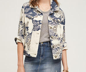 NWT ANTHROPOLOGIE FLORAL JACQUARD SHIRT JACKET by PILCRO M, an item from the 'Fearless & Fashion Forward' hand-picked list