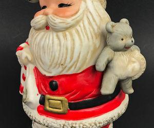 Vintage Santa Claus Coin Piggy Bank #5610 Christmas Homco Made Taiwan, an item from the 'Santas & Snowmen' hand-picked list