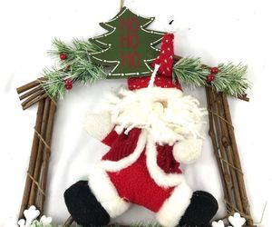 Ho Ho Ho Santa Decorative Wall Door Christmas Hanging, an item from the 'Handmade Christmas' hand-picked list