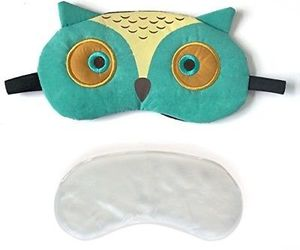 3D Cute Owl Eye Mask With Reusable Gel Pad, Cold Hot SPA Therapy For Dry Eye, an item from the 'Self Care' hand-picked list