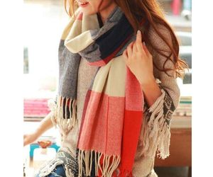 UNIQU® Classic Autumn Winter Women Cashmere Plaid Scarf Female Soft Wool, an item from the 'Hay(ride) Fever' hand-picked list