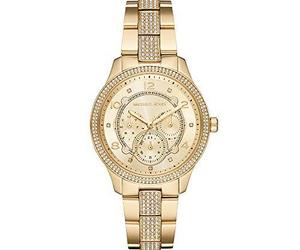 Michael Kors Watches Women's Runway Multifunction Gold-Tone Stainless Steel, an item from the 'Rock Around the Clock' hand-picked list