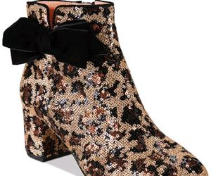 kate spade new york Leopard Print Langley Bow Booties $350 Mult Sz, an item from the 'Cute Booties' hand-picked list