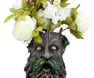 Ebros Gift Whispering Willows Evergreen Forest Greenman Wall Hanging Planter Scu, an item from the 'Pretty Planters' hand-picked list
