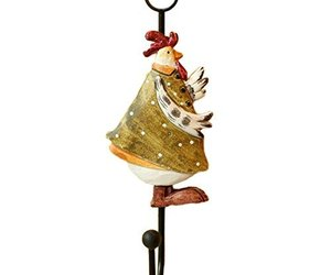 1 Piece Creative Chicken Utility Wall Hooks Household Coat Hook Wall Covering Ho, an item from the 'Friends in the Kitchen' hand-picked list