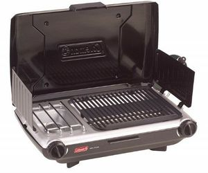 Coleman Camp Propane Grill/Stove Camping, Tailgating, Backyards, Hunting, BBQing, an item from the 'Camping Gear' hand-picked list