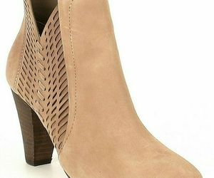 Women Vince Camuto Rotiena Suede Laser Cut Booties, Multi Sizes Wild Mushroom VC, an item from the 'Cute Booties' hand-picked list
