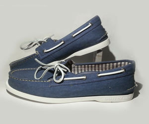 Sperry Top-Sider Men Authentic Original Washed Boat Shoe Size 10 M Non-Marking , an item from the 'Summer Menswear' hand-picked list