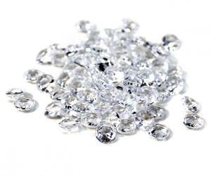3200pc Clear Diamond Table Confetti Wedding Bridal Shower Decor 4 Carat 10mm, an item from the 'A Reception to Remember' hand-picked list