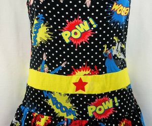 DC COMICS Polka Dot Womens Superhero Layered Sleepwear Pajamas Size M, an item from the 'Connecting the dots' hand-picked list