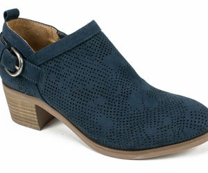 Womens White Mountain Avenue Bootie - Navy/Suedette Size 8, an item from the 'Cute Booties' hand-picked list