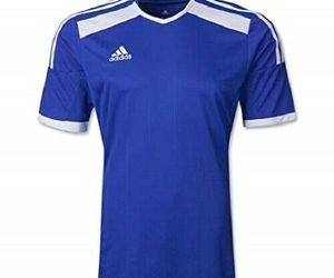 Adidas Youth/Men's Climacool Regista 14 Soccer Jersey Cobalt/White Size Small, an item from the 'Youth Soccer Gear' hand-picked list
